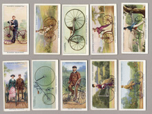 Cycling cigarette cards
