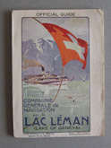Lac Leman, (Lake of Geneva) Official Guide