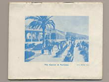 Menton, 1939 Guide, back cover