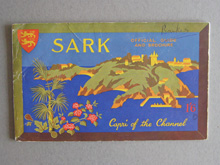 Sark Guide, Channel Islands, front cover