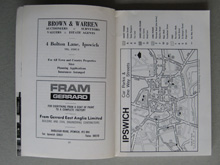 Suffolk maps and adverts