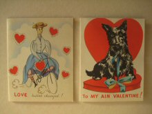 Old Valentines cards