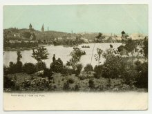 Chesterfield from park Postcard