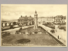 The Gardens, Barnstaple, Postcard