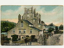 Kings Arms, Combe Martin, Postcard
