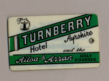 Turnberry Hotel, Luggage Label
