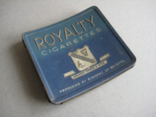 Royalty Cigarette tin