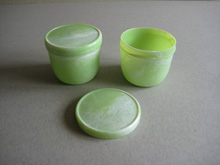 Bandalasta green lidded pot