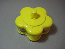 Vintage cotton reel holder