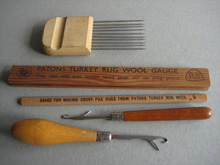 Rug making tools