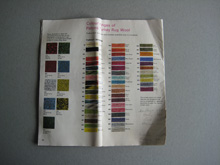 Rug making catalogues